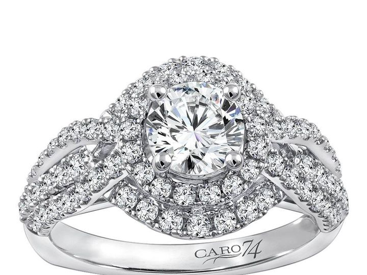 Tmx 1479762749927 Diamond Halo Engagement Ring Burlington, MA wedding jewelry