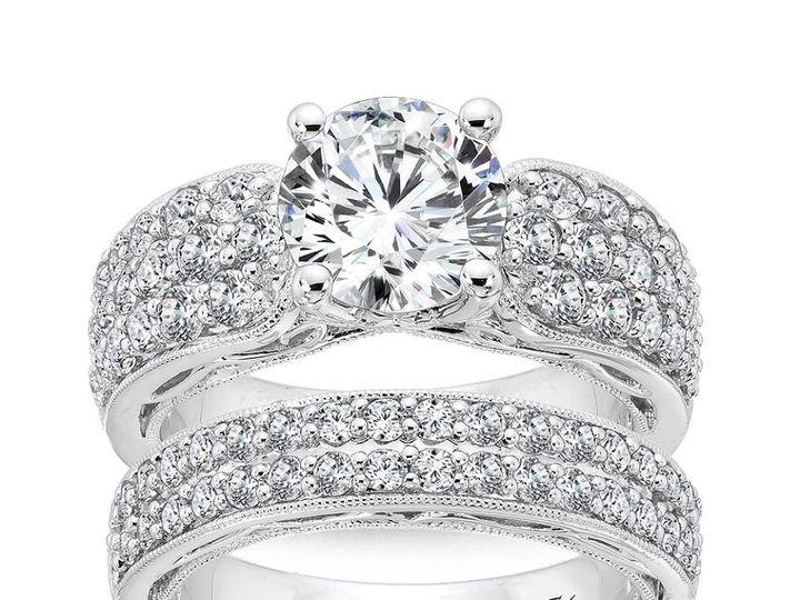 Tmx 1479762765332 Engagement Ring And Matching Band Burlington, MA wedding jewelry