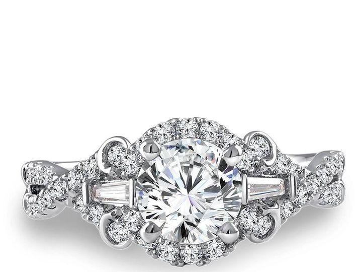 Tmx 1479762783408 Engagement Ring With Baguettes Burlington, MA wedding jewelry