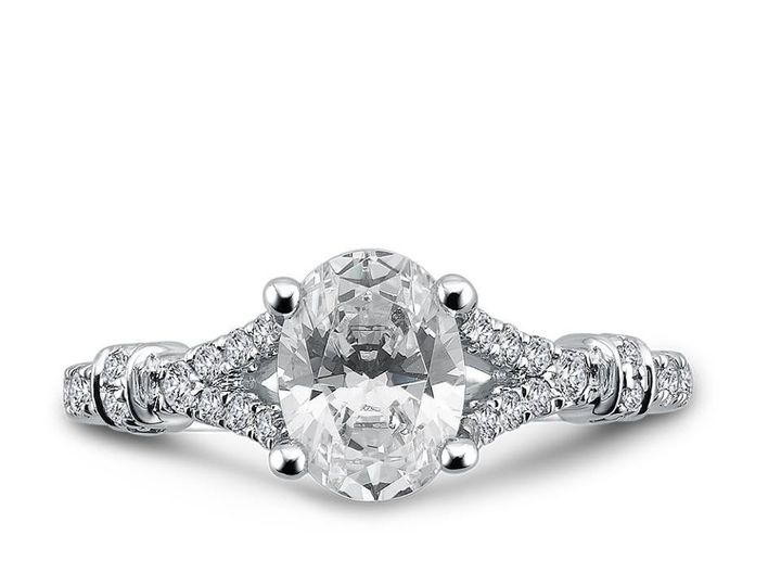 Tmx 1479762851626 Opulent Oval Engagement Ring Burlington, MA wedding jewelry