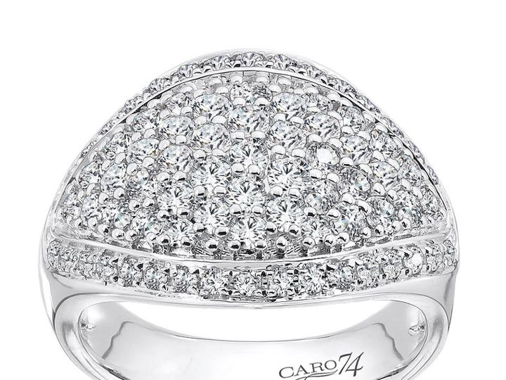 Tmx 1479762858439 Pave Ring Burlington, MA wedding jewelry