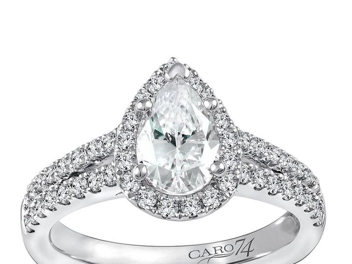 Tmx 1479762865168 Pear Cut Diamond Engagement Ring Burlington, MA wedding jewelry