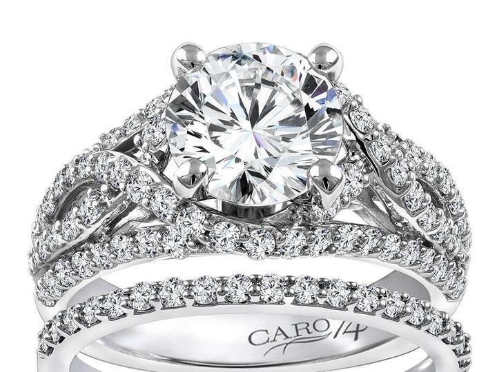 Tmx 1479762905345 Weaving Diamond Design And Classic Diamond Band Burlington, MA wedding jewelry