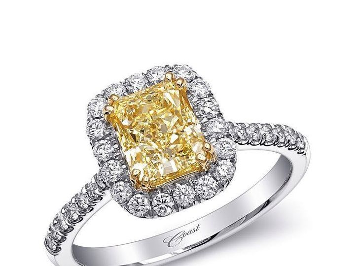 Tmx 1479763142515 Engagement Ring In 18k White And Yellow Gold Featu Burlington, MA wedding jewelry