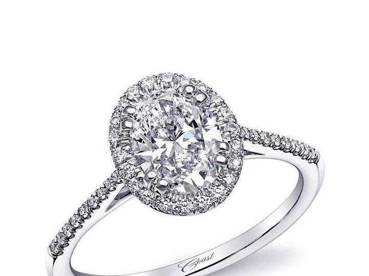 Tmx 1479763156471 Custom Engagement Ring Featuring An Oval Diamond S Burlington, MA wedding jewelry