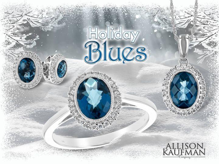Tmx 1479763520333 London Blue Topaz Ensemble Burlington, MA wedding jewelry