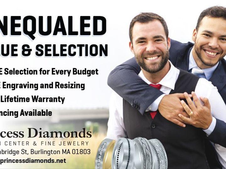 Tmx 190728 Wedding Band Equality Web 51 950520 1564795366 Burlington, MA wedding jewelry