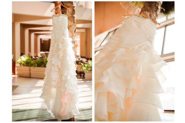 leilas wedding gown