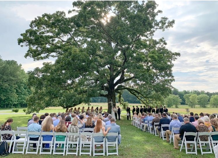 Ceremony under the tree