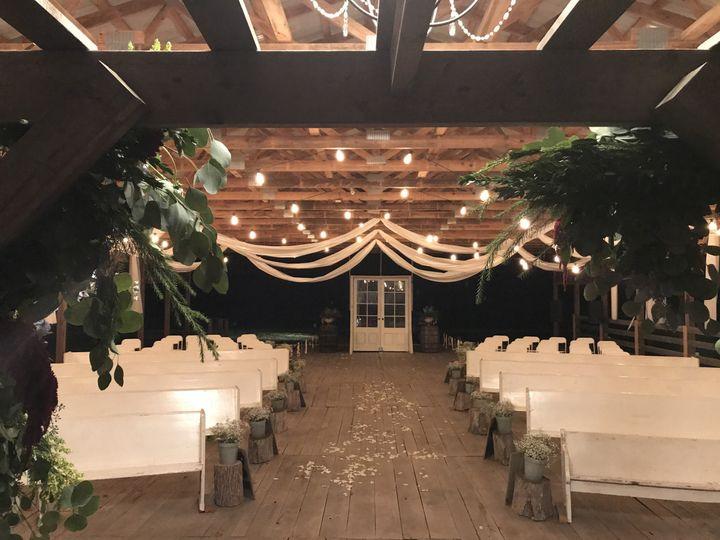 Elegant indoor setup