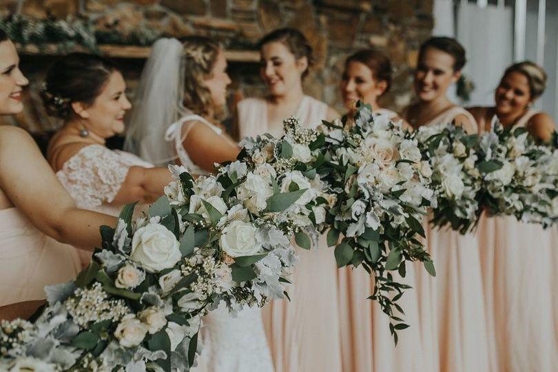 Bridal party & florals.