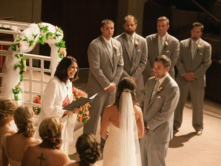 Tmx 1447078873739 Lyndsay Ceremony Back Sullivan, Wisconsin wedding officiant