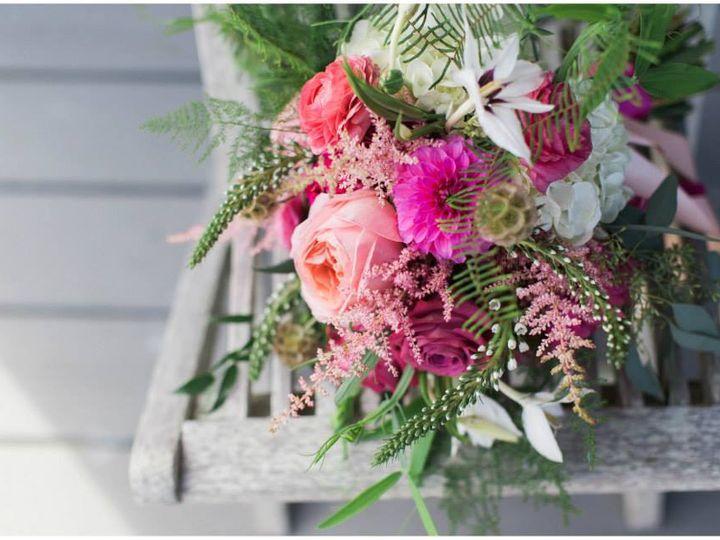 Tmx Bright Pink Bridal Bouquet 51 555520 Brunswick wedding florist