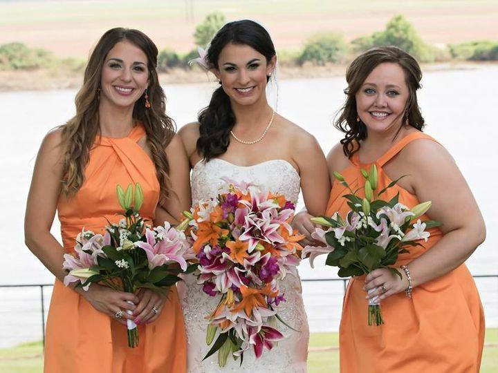 Tmx 1442530066379 Stephanie And Bridesmaids Stillwater, OK wedding beauty