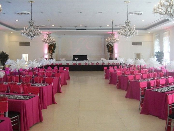Pink and fun tables