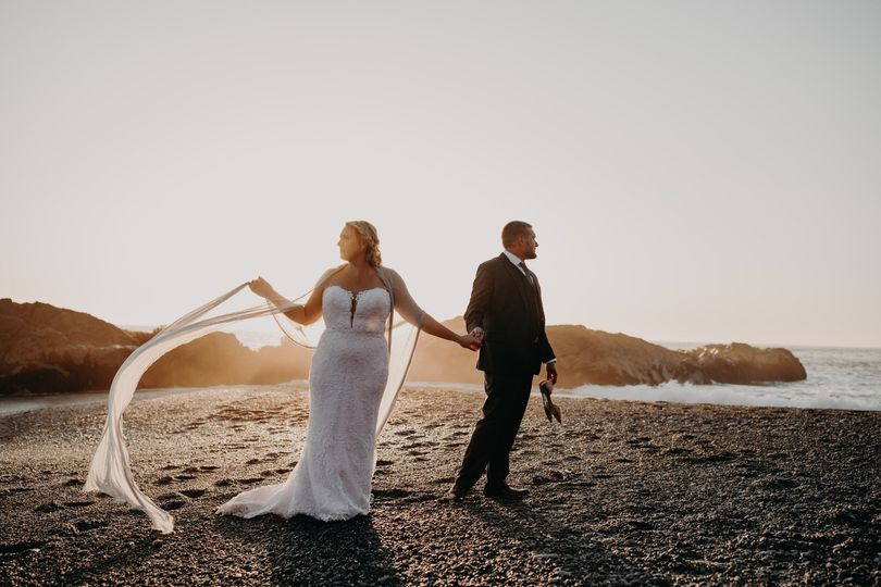 moody black sand beach wedding the lost cost shelter cove02833 51 717520 1573249851