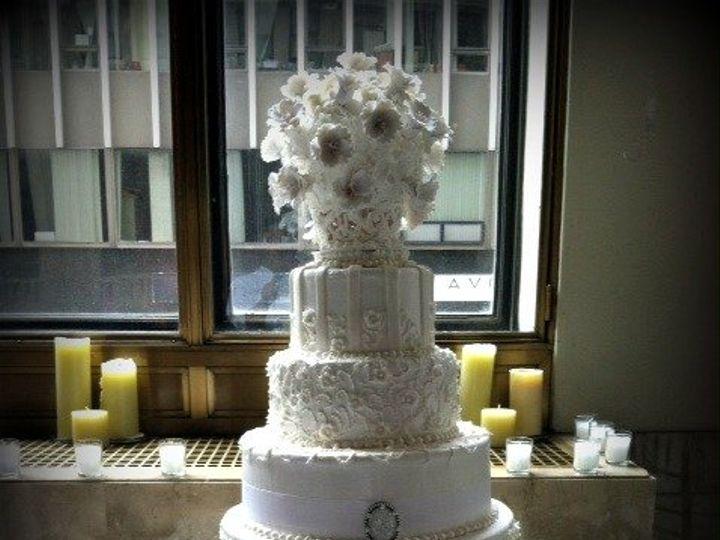 Tmx 1346350589145 2012CakeMezz6tierEnhanced Little Falls, NJ wedding catering