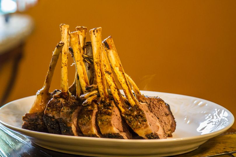 Rack of lamb roast