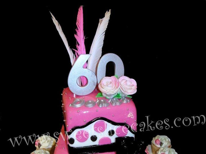 Tmx 1346893192310 SixtySensationalCake058B Collegeville, PA wedding cake