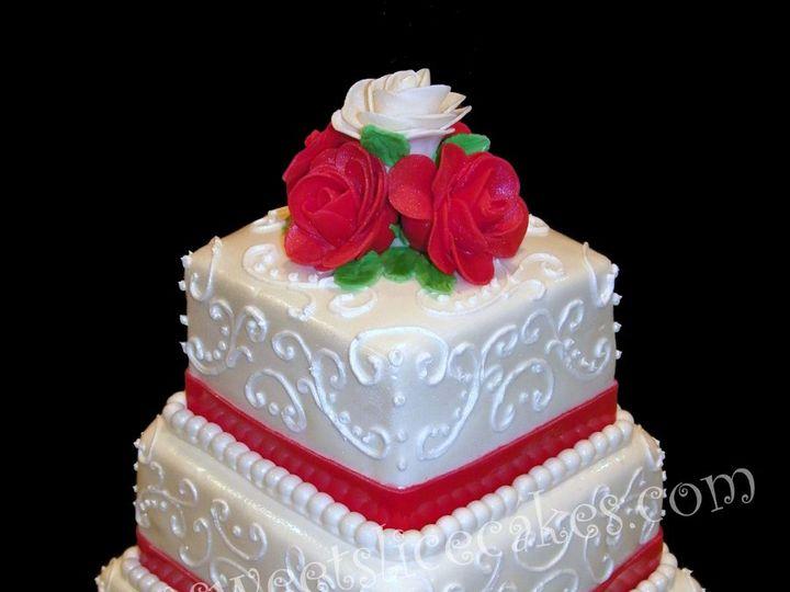 Tmx 1346893269794 RedScrollWedding014B Collegeville, PA wedding cake
