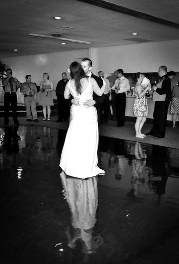 A first dance at Tall Timbers