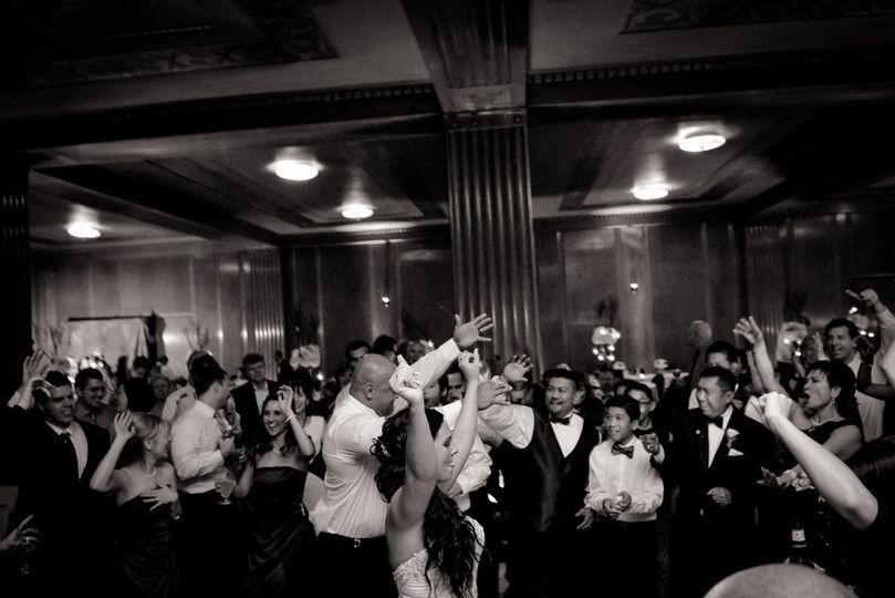 Huge Filipino wedding at the Columbus Athenaeum