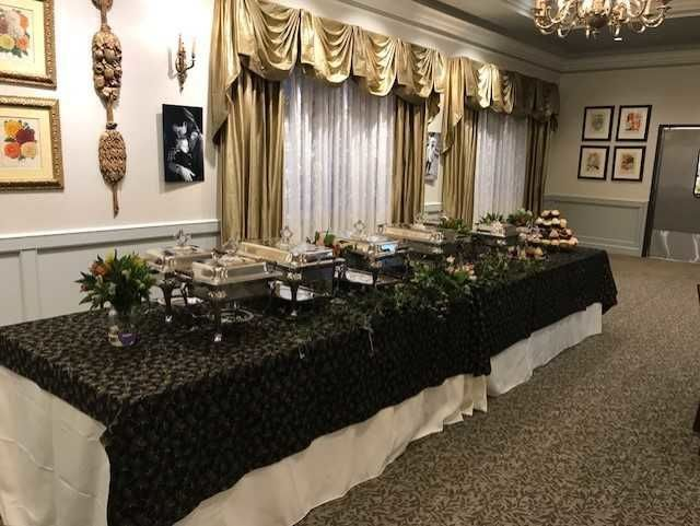 Buffet for corporate dinner