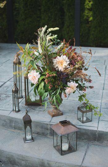 metallics farm wedding inspiration 3