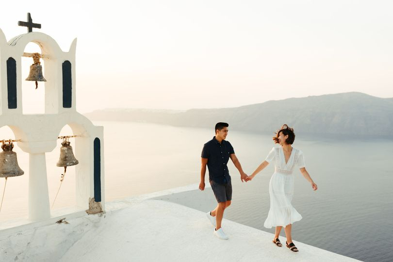 Santorini Adventure Engagement