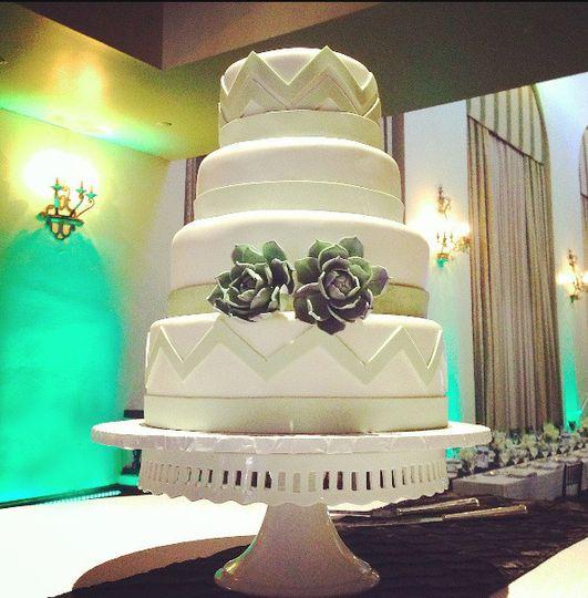 succulent weddng cake cakeland designs