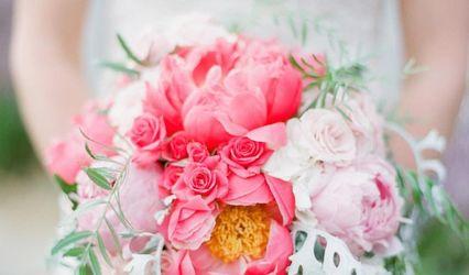 Camellia Wedding Flowers 1