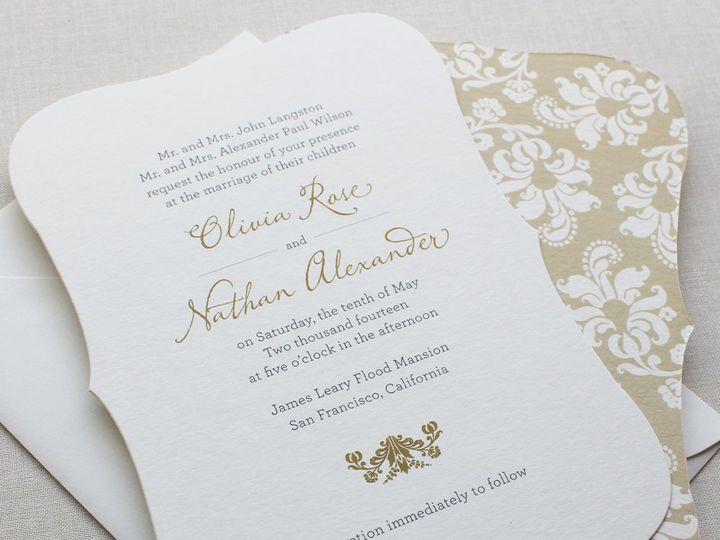 Tmx 1353952777535 BLOOMINGSWIRLweddinginvitation2 Santa Clara wedding invitation