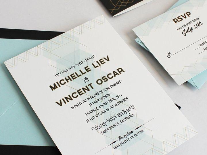 Tmx 1353952802634 GEMQUARTERSweddinginvitation3 Santa Clara wedding invitation