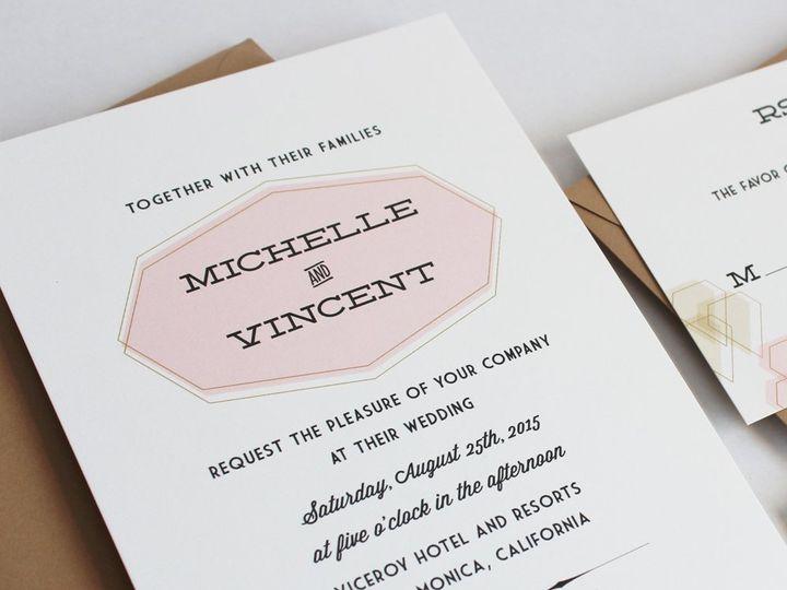 Tmx 1353952824522 PARAGONweddinginvitation Santa Clara wedding invitation