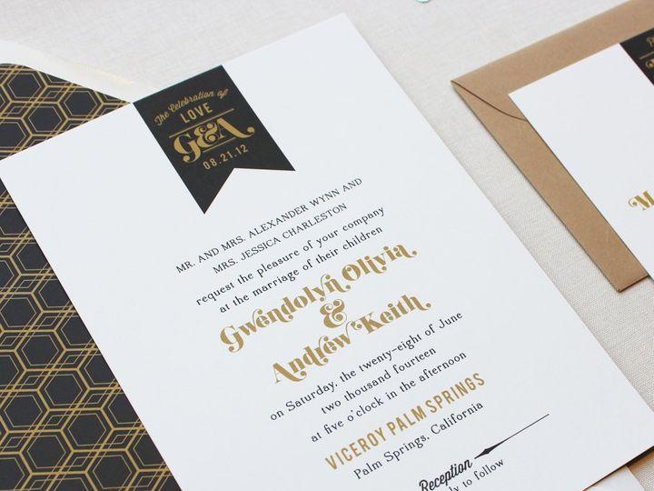 Tmx 1353952838092 PENNANTLABELweddinginvitation Santa Clara wedding invitation