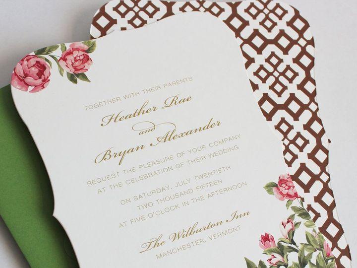 Tmx 1353952843093 PEONIESweddinginvitation Santa Clara wedding invitation