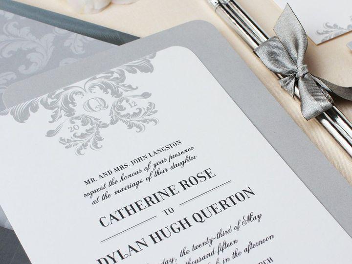 Tmx 1353952847767 PLUMEELEGANCEweddinginvitation Santa Clara wedding invitation