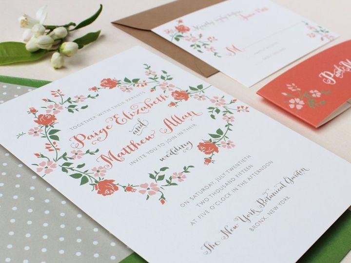 Tmx 1353952856673 RINGOFROSESweddinginvitation Santa Clara wedding invitation