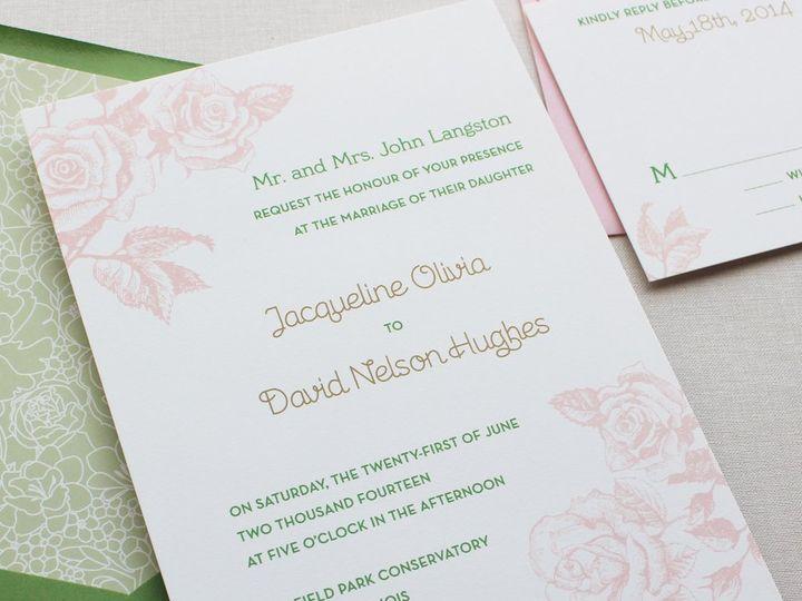 Tmx 1353952865933 ROSEGARDENweddinginvitation2 Santa Clara wedding invitation