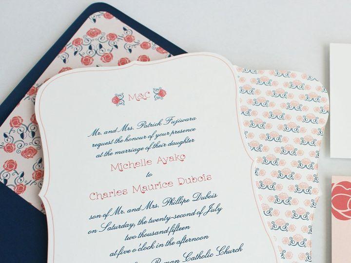 Tmx 1353952870713 ROSEORNATEweddinginvitation Santa Clara wedding invitation