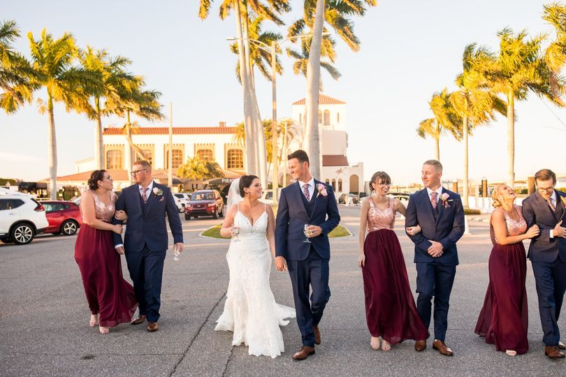 Bridal Party Entry