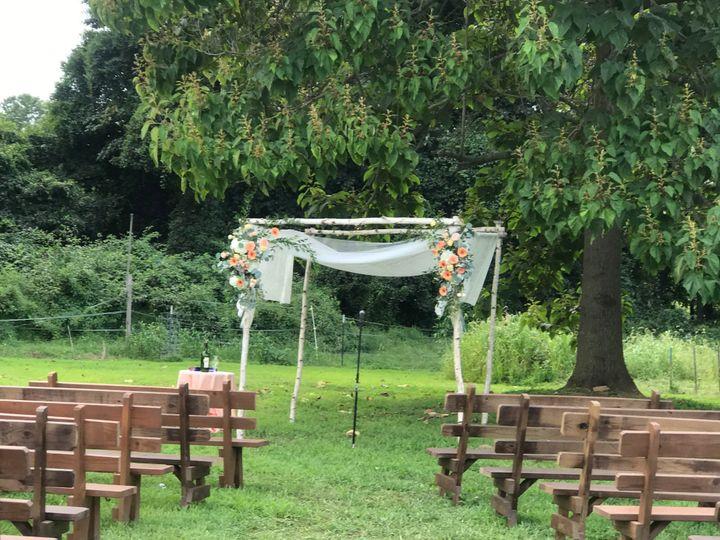 Out door wedding space