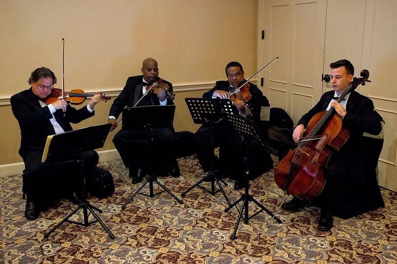 The mini orchestra