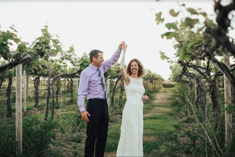 Dancing in the vineyard