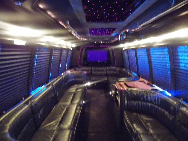 22 Passenger Party Bus - Interior 1