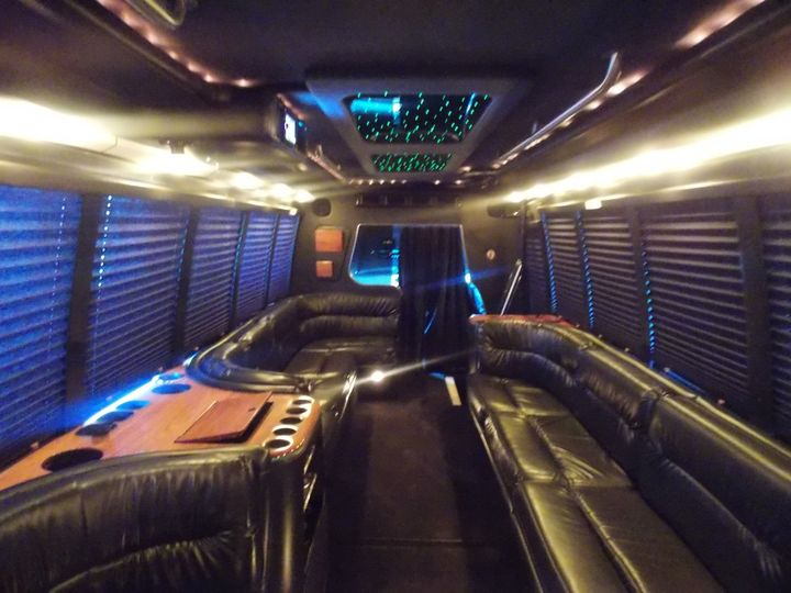 22 Passenger Party Bus - Interior 2