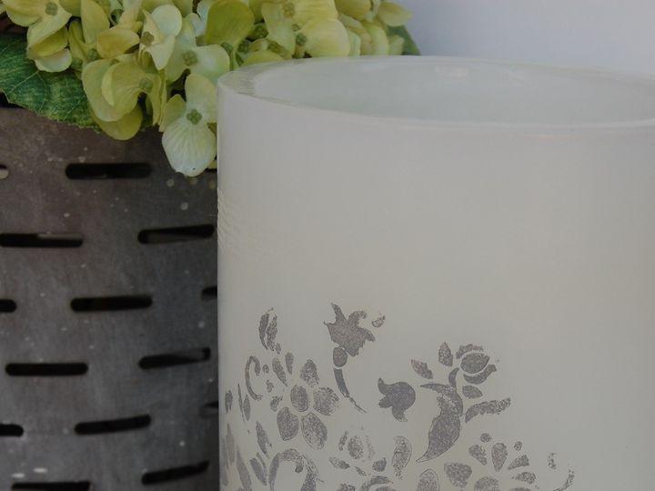 Tmx 1473599066363 White Xxl Cylinder With Stencil Accent In Grey Miami wedding eventproduction