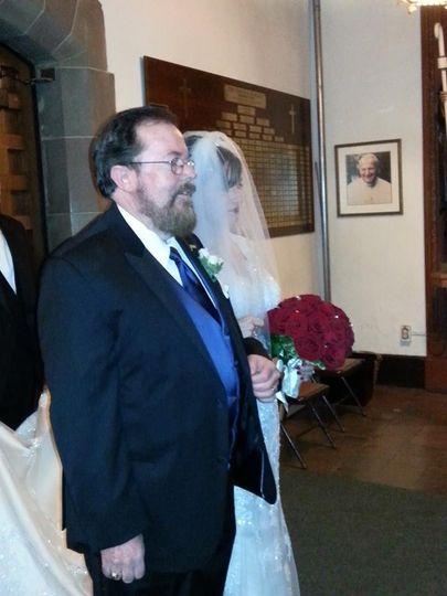 red rose wedding