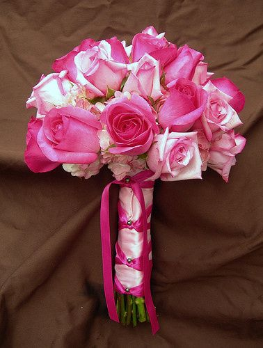 Tmx 1400162765441 Hot Pink And Light Pink Bouque Westbury, New York wedding florist