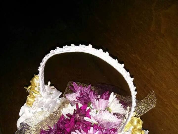 Tmx 1415293788749 Purple Lavender Gold Flower Girl Basket   Copy Westbury, New York wedding florist